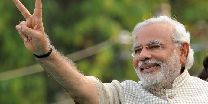 Narendra Modi, le nouveau premier ministre indien.