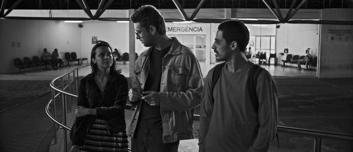 Simone Iliescu, Pedro di Pietro et Acauã Sol dans le film brésilien de Francisco García,