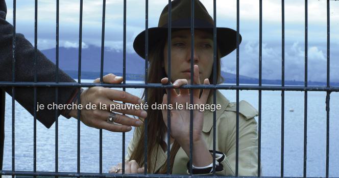 Zoé Bruneau dans le film français et suisse de Jean-Luc Godard,