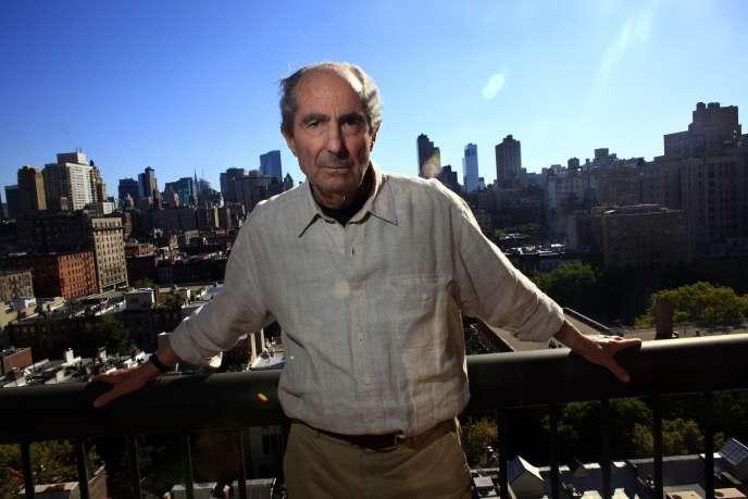 Philip Roth en 2010 à New York.