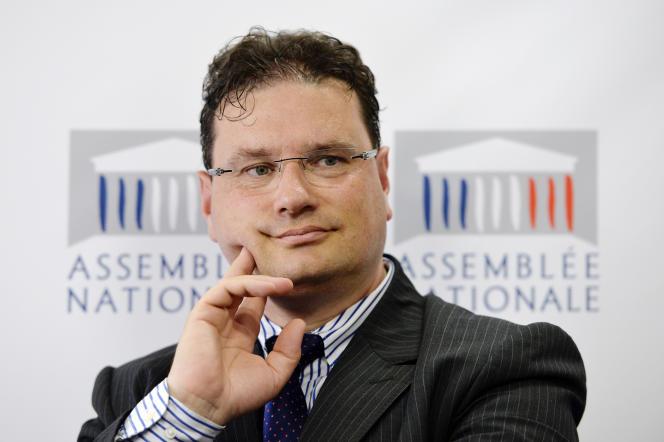 Philippe Gosselin, le député UMP de la Manche.
