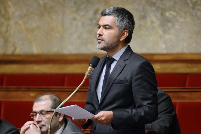 Sergio Coronado, député EELV des Français établis hors de France, à l'Assemblée nationale, le 29 janvier.