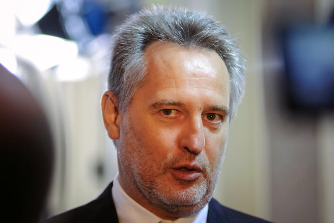 Dmitro Firtach, à Kiev, le 18 mai 2010.