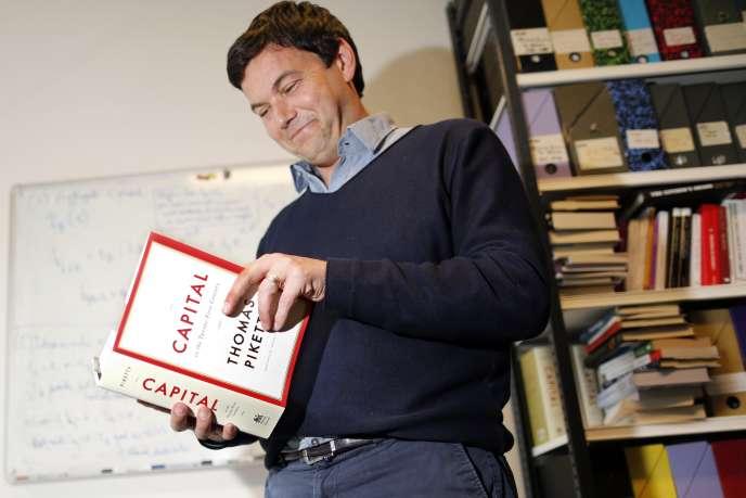 Thomas Piketty, le 12 mai à Paris.
