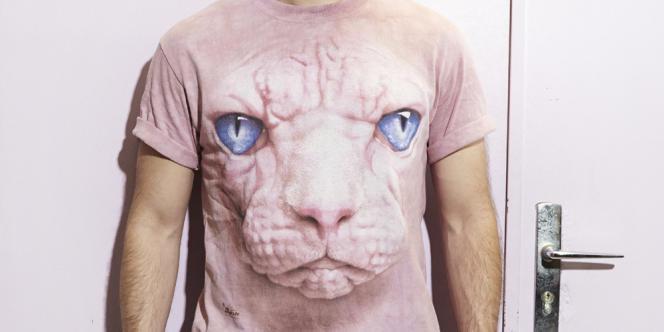 Un des célèbres t-shirts de Jérôme Niel.