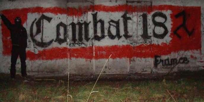 Capture d'écran du site des néo-nazis interpellés le 20 mai 2014 dans le Doubs.