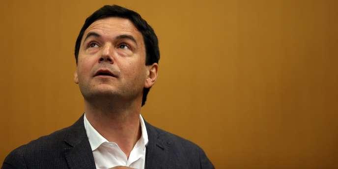 Thomas Piketty, en avril à Berkeley, aux Etats-Unis.