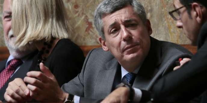Henri Guaino, de l'UMP, en juin à l'Assemblée nationale.
