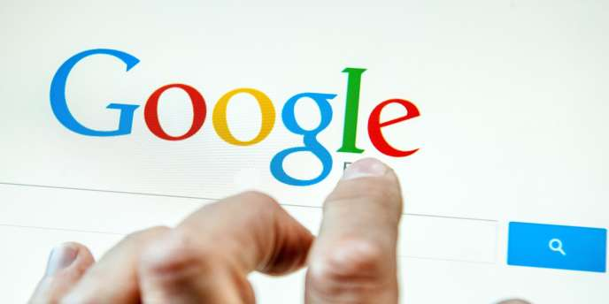 Logo du moteur de recherche Google.