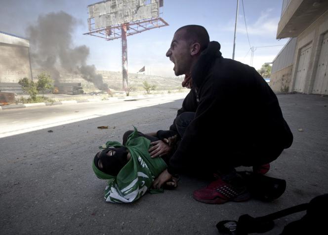 L'une des victimes palestiniennes tuées le 15 mai.