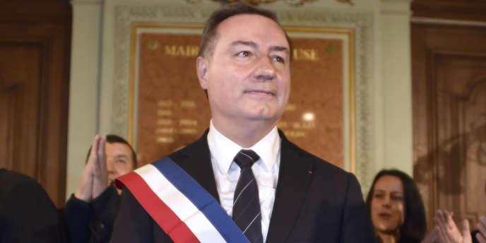Jean-Luc Moudenc, maire UMP de Toulouse, le 4 avril.