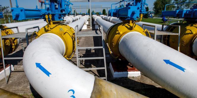 Une station de Gazprom en Ukraine.