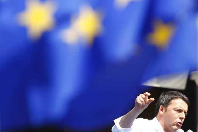 Matteo Renzi, le 20 mai à Rome.