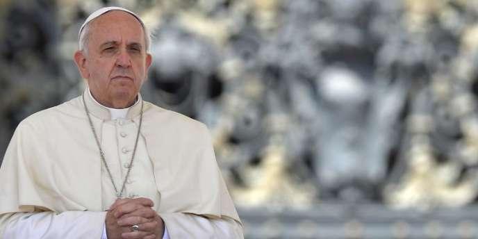 Le pape François, le 21 mai au Vatican.