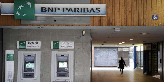 Une agence BNP à Rennes.