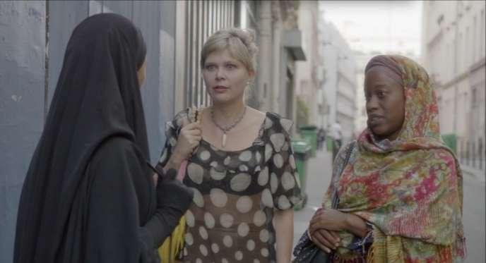 Une image du court-métrage de Charlotte Schioler,