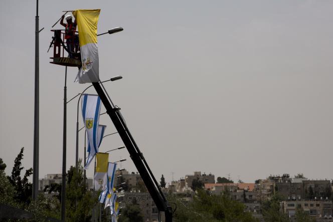 A Jérusalem, le 21 mai.