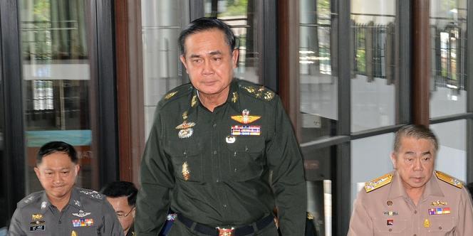 Le chef de l'armée de terre thaïlandaise, le général Prayuth Chan-ocha.