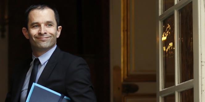 Benoît Hamon à Matignon, le 15 mai.