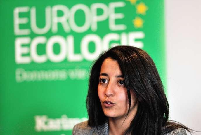 Karima Delli est eurodéputée sortante EELV et tête de liste dans le Nord-Ouest.