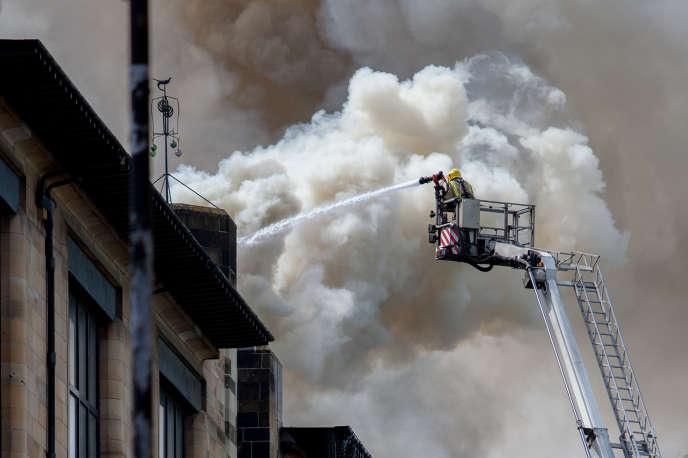 La cause de l'incendie reste pour l'instant inconnue.
