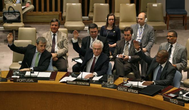 Aux Nations unies, en 2012.