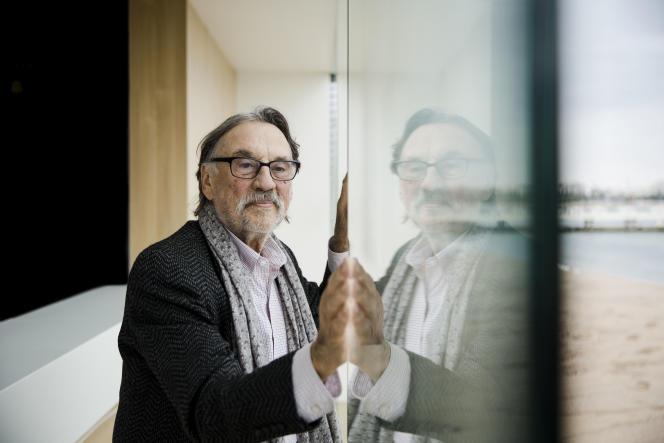 Vilmos Zsigmond, 83 ans, directeur de la photographie, à Cannes.