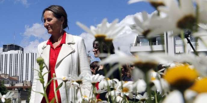 La ministre de l'écologie et de l'énergie, Ségolène Royal, le22mai2014.