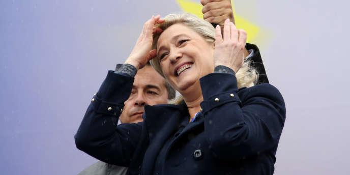 Marine Le Pen, le 1er mai 2014.