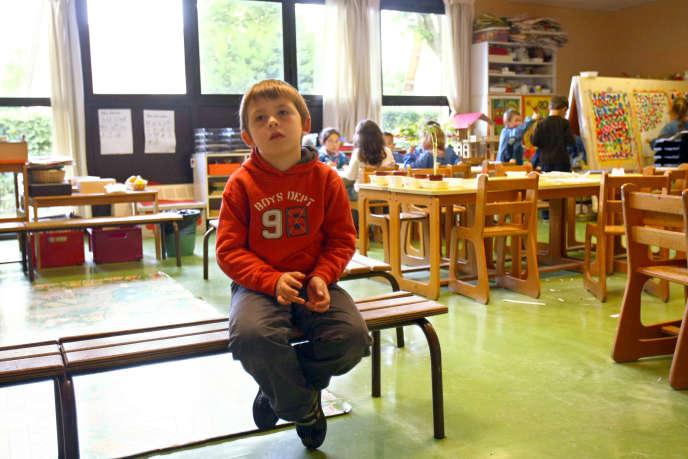 La haute autorité constitutionnelle indépendante s'inquiète de l'encadrement des élèves handicapés pendant le temps périscolaire (photo d'illustration).