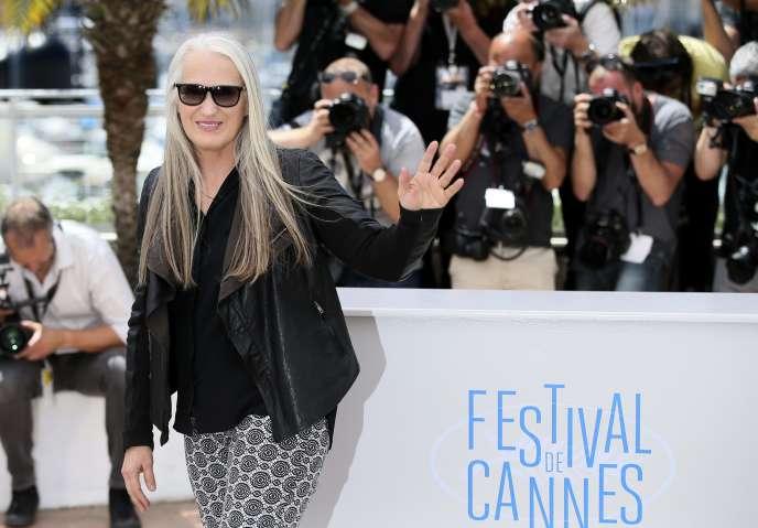 La présidente du jury cannois, Jane Campion, lors du 67e Festival de Cannes, le 14 mai 2014.
