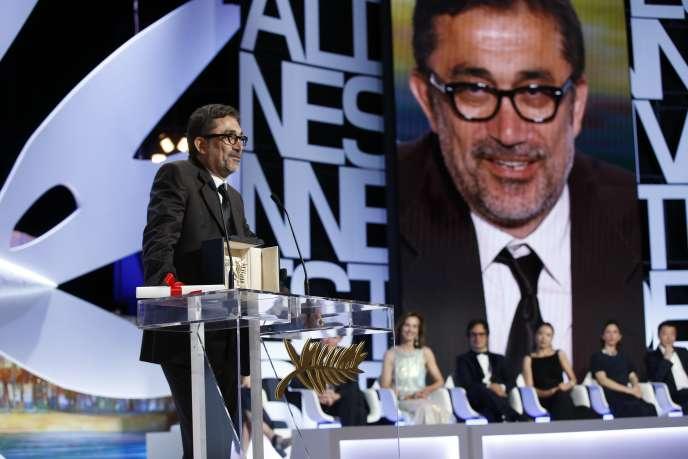 Le réalisateur turc Nuri Bilge Ceylan, Palme d'or 2014 pour