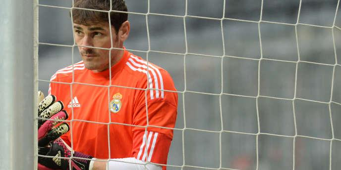 Iker Casillas, gardien et figure tutélaire du Real Madrid.