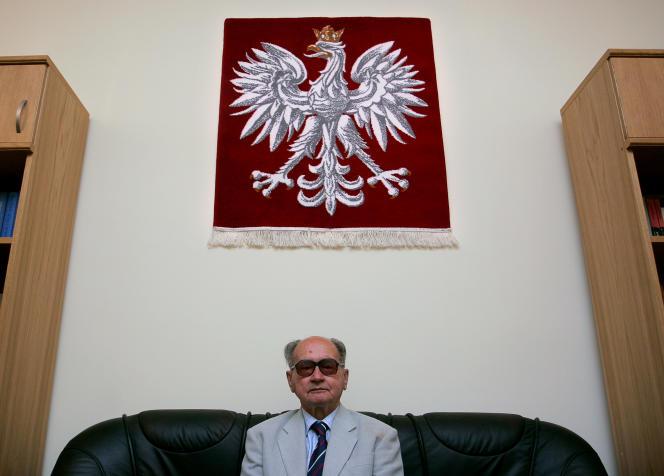 Le général Wojciech Jaruzelski, ancien dirigeant communiste polonais (ici en 2005), est mort à l'âge de 90 ans, le 25 mai.