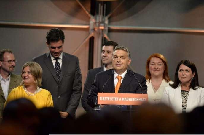 Viktor Orban, le 25 mai 20144 à Budapest.