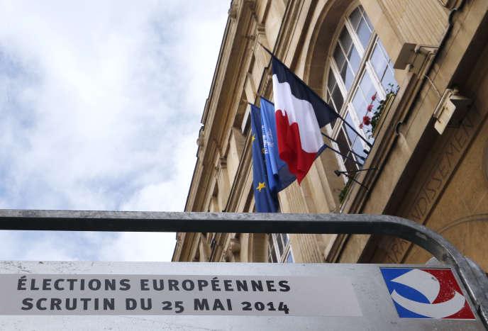 Le FN a terminé premier des élections européennes du 25 mai 2014.