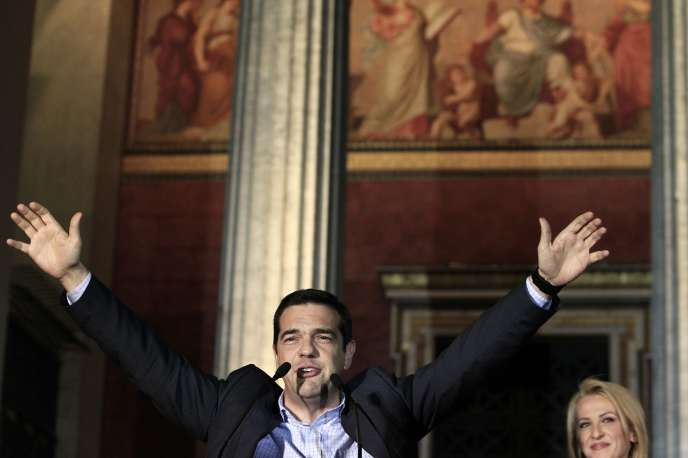 Alexis Tsipras, le 26 mai à Athènes.