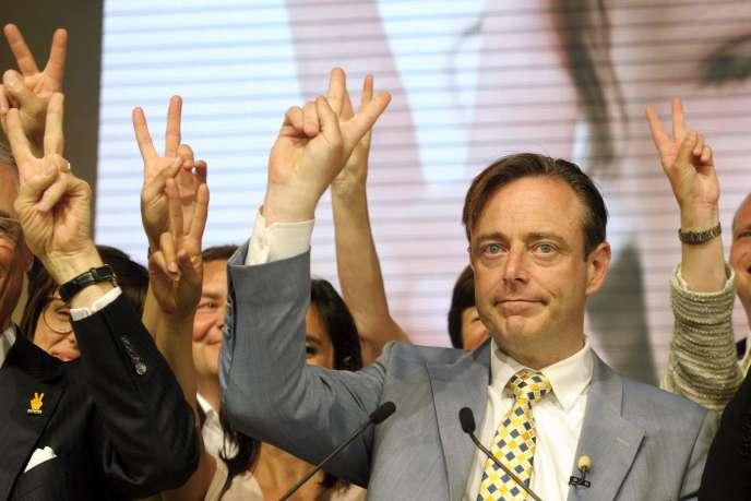 Bart de Wever, chef du parti nationaliste flamand NVA, dimanche 25 mai 2014.