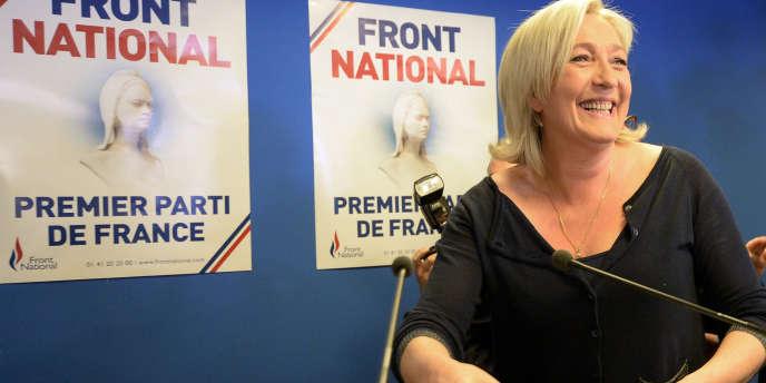 Le Front national a remporté les élections européennes en France avec 25 % des suffrages.