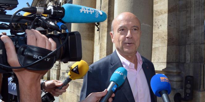Le maire de Bordeaux, Alain Juppé, le 17 mai.
