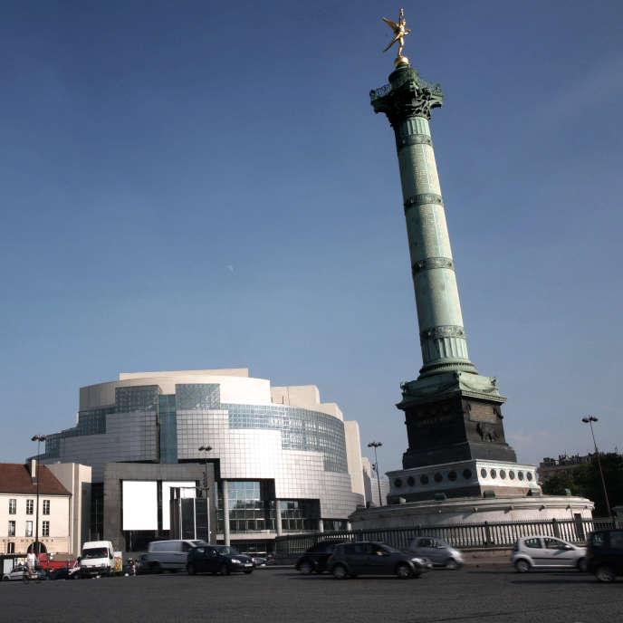 L'Opéra Bastille.