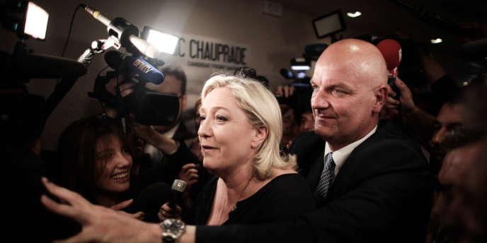 Marine Le Pen à Paris, le 25 mai.
