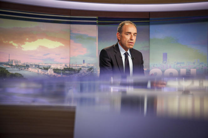 Jean-François Copé au JT de TF1 à 20 heures le 27 mai.