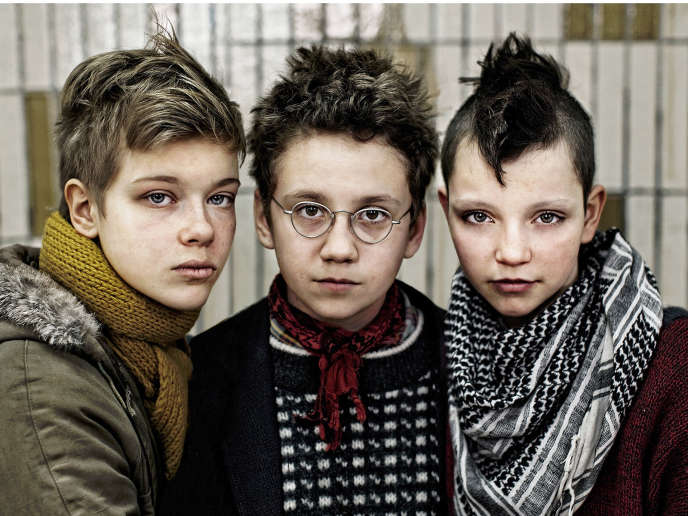 Liv LeMoyne, Mira Barkhammar et Mira Grosin dans le film suédois de Lukas Moodysson,