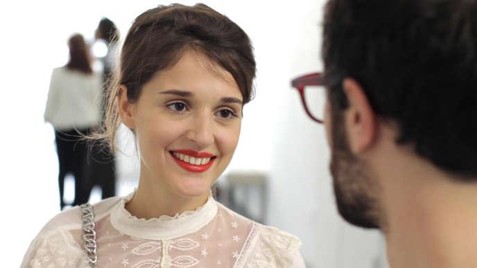 Lola Bessis dans le film franco-américain de Ruben Amar et Lola Bessis,