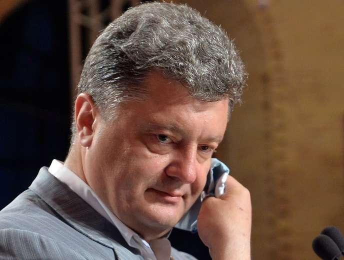 Petro Porochenko, le 26 mai à Kiev.
