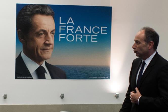 Jean-François Copé au siège de l'UMP, le 8 janvier.