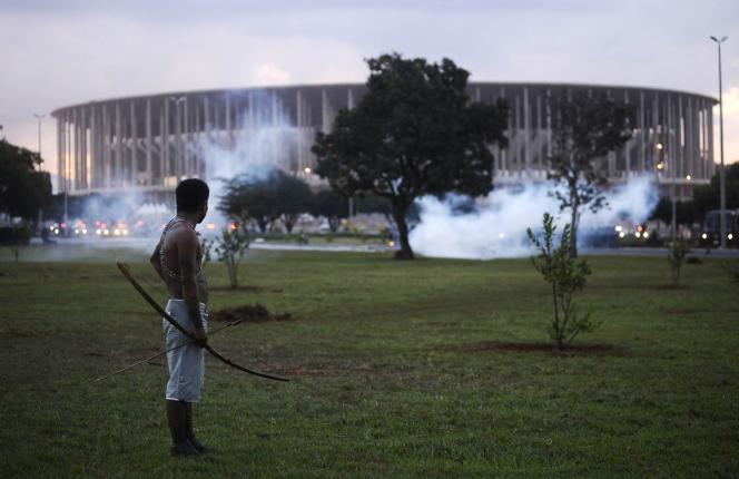 A Brasilia, le 27 mai.