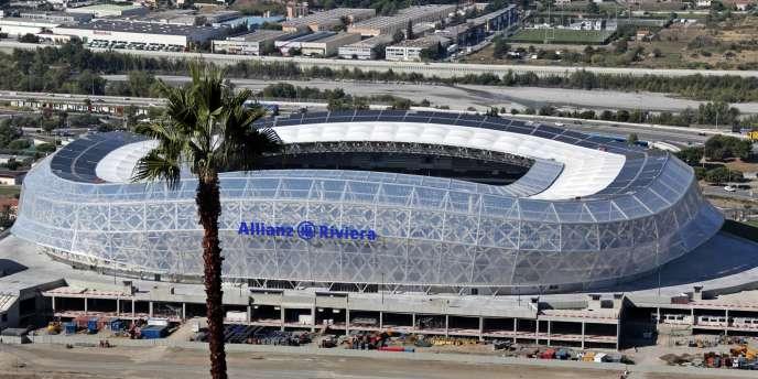 L'Allianz Riviera de Nice a été inaugurée en août 2013.