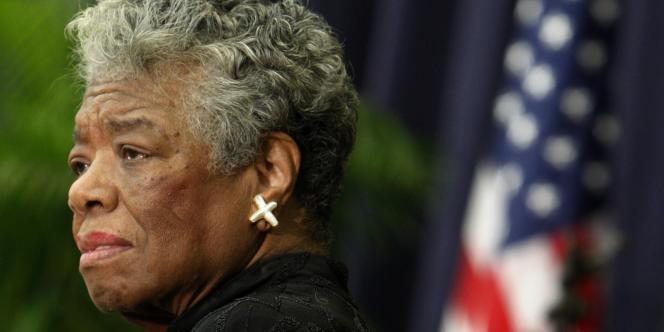 L'écrivaine, de son vrai nom Marguerite Johnson, était également actrice et militante afro-américaine, devenue une grande figure du mouvement américain pour les droits civiques.